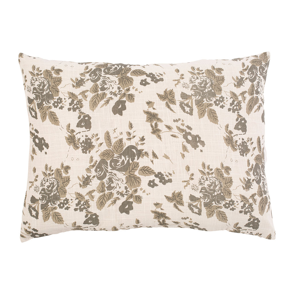 img-Coussin dosseret  Taupe en Coton, Polyester