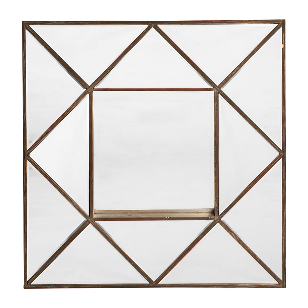 img-Miroir mathy marron en pin