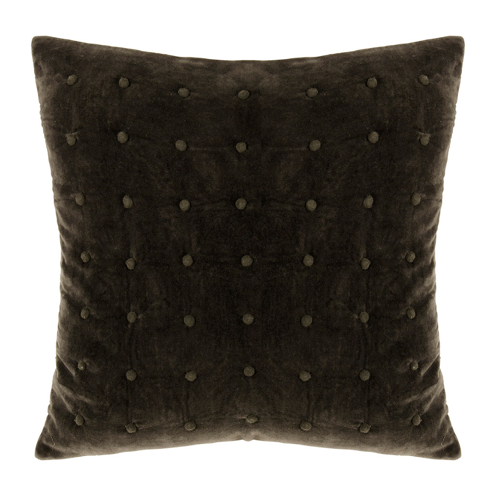 img-Coussin nostalgy anthracite en coton