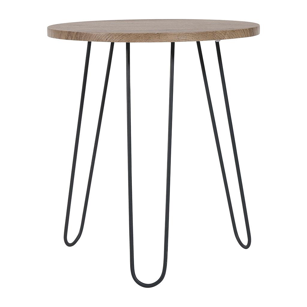 Jardin d\'Ulysse - Table basse ronde boheral couleur chene ...