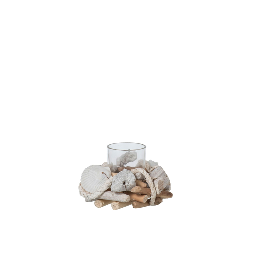 img-Photophore 1 coquillage/branche/corde naturel/blanc