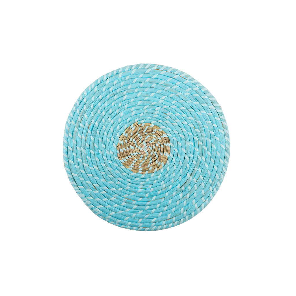 img-Set de table jute azur/naturel