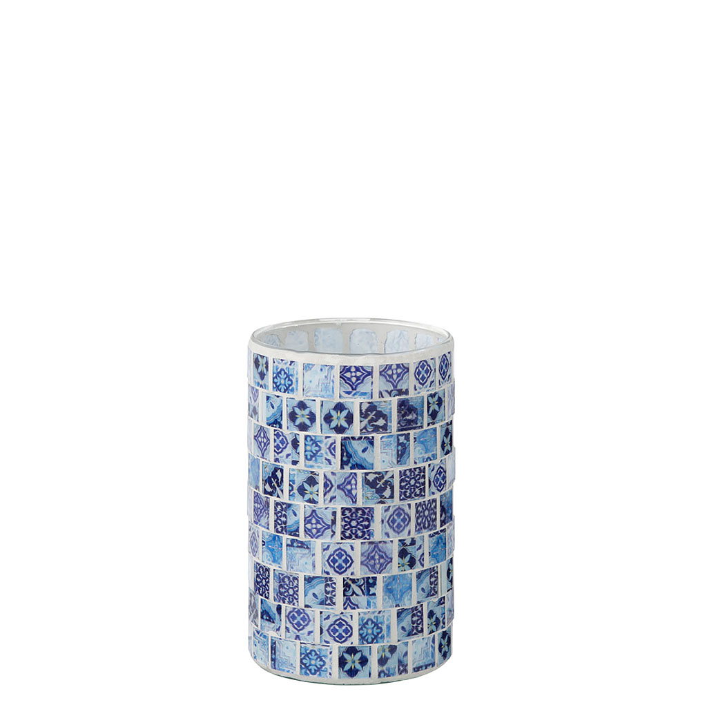 img-Photophore mosaique bleu jeans large