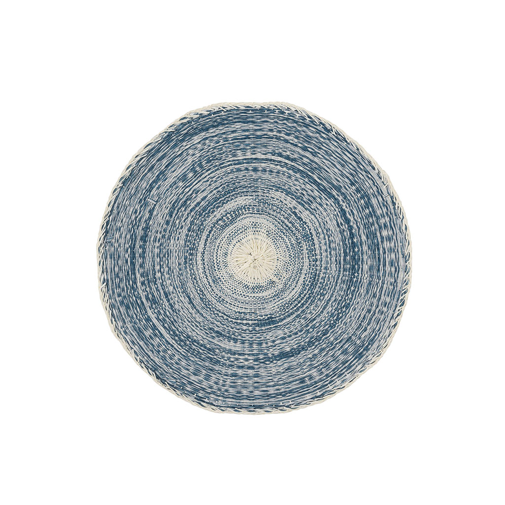 img-Set de table tresse papier jeans