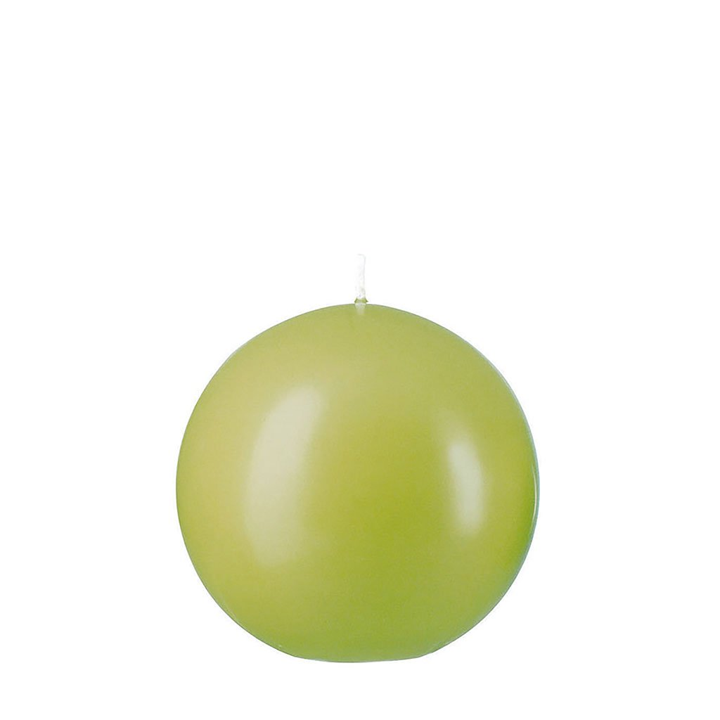 img-Bougie boule 8cm olive