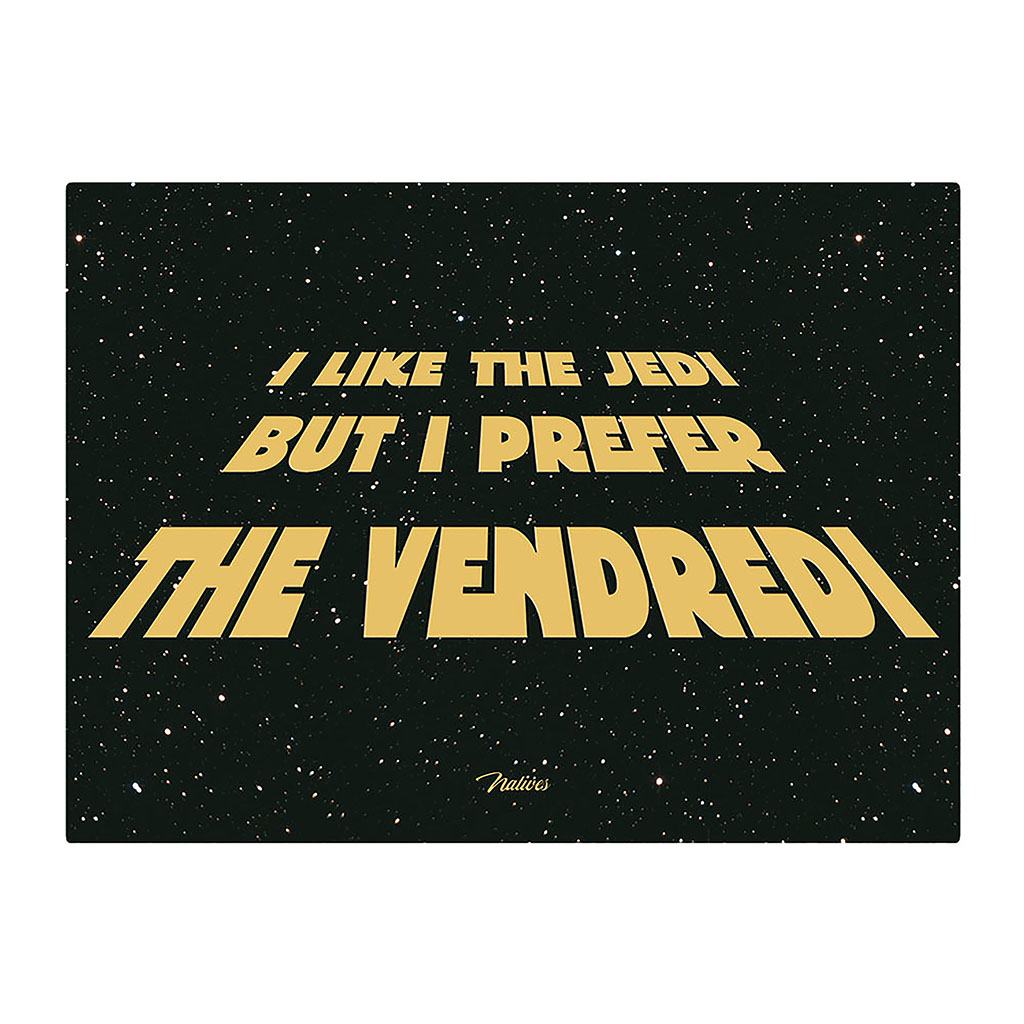 img-Plaque métal pm - i like the jedi
