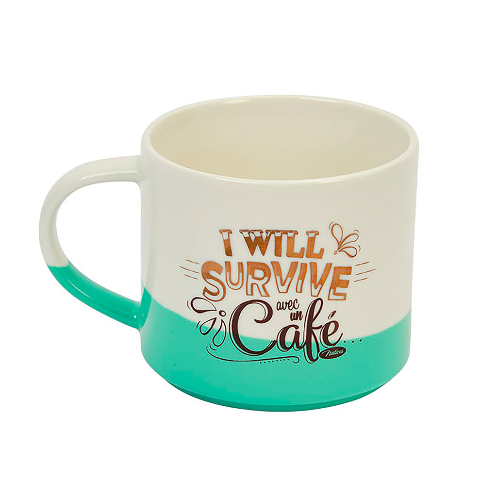 img-Mug bicolore i will survive