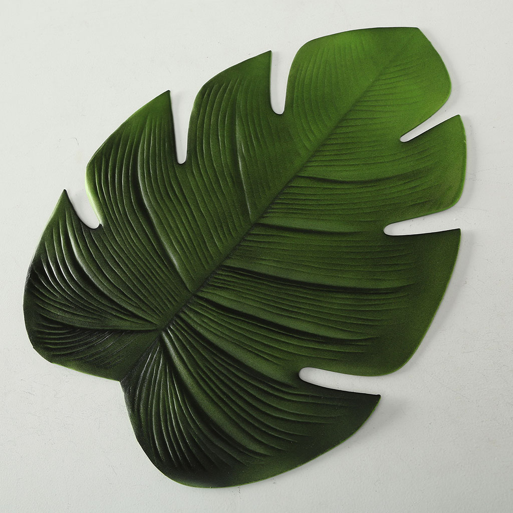 img-Set de table feuille l48x38cm vert