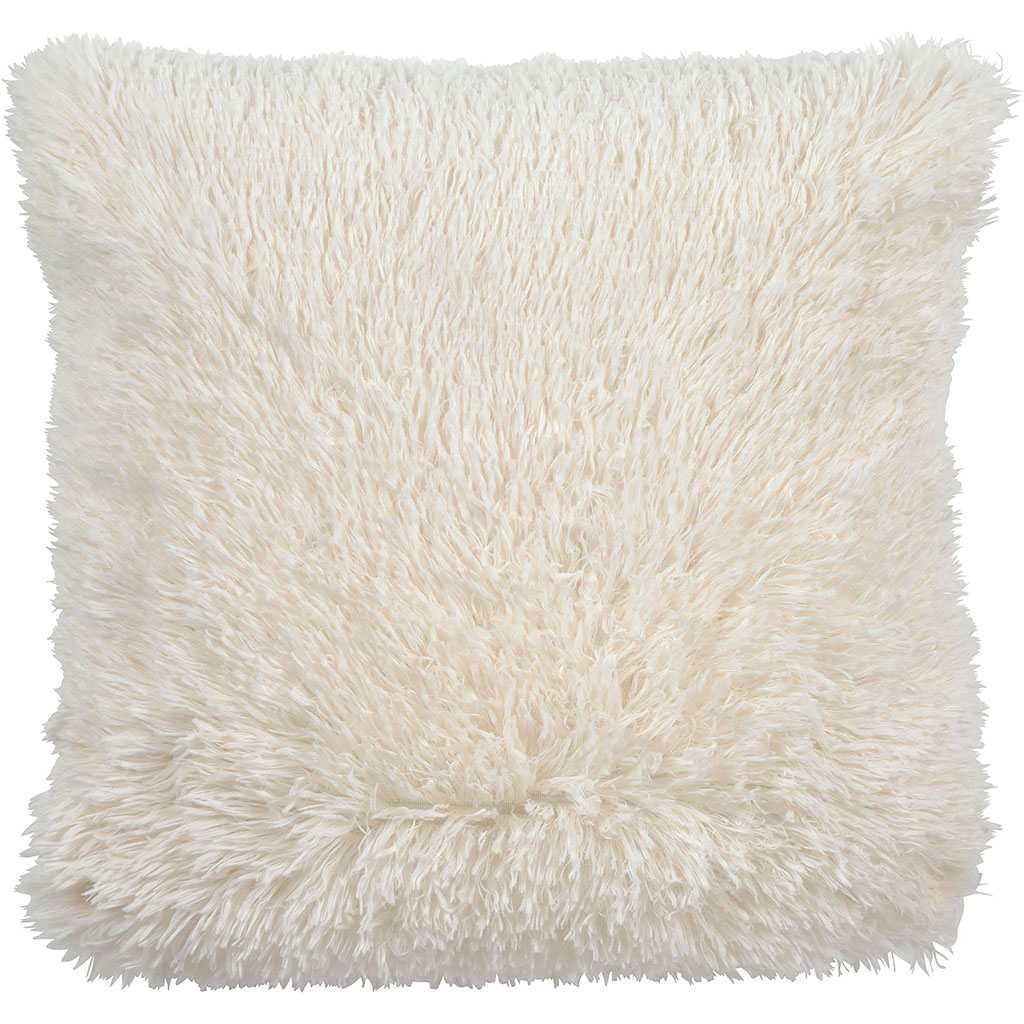 img-Coussin fluffy 45x45cm ivoire