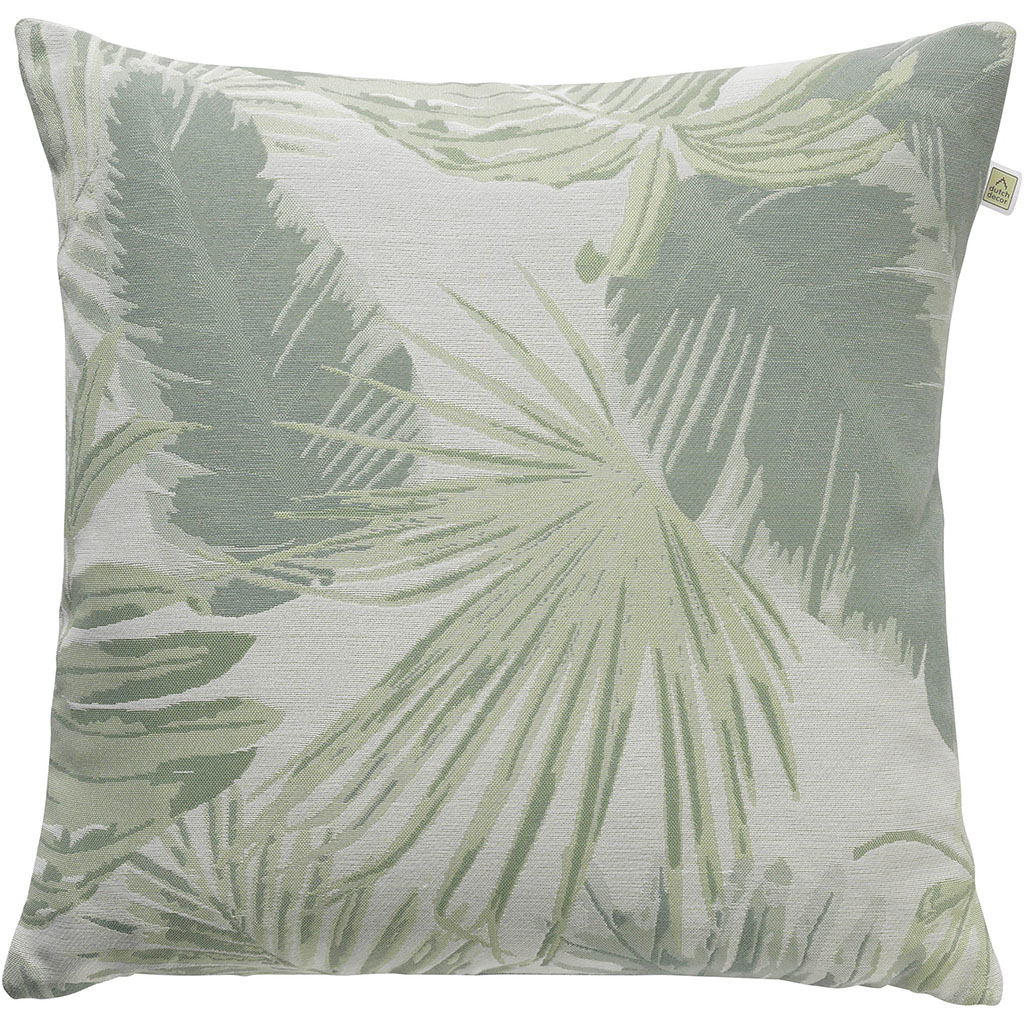 img-Coussin carl 45x45cm vert multicolor