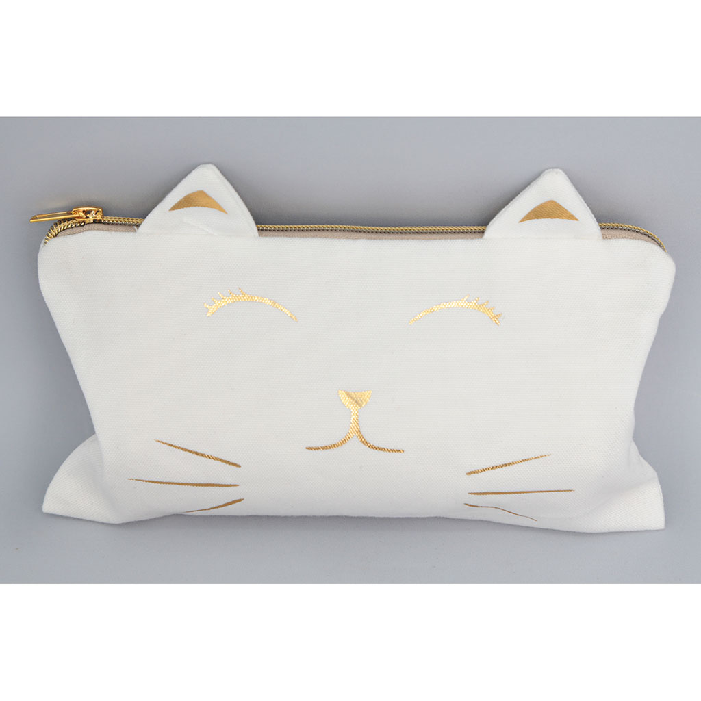 img-Sac cosmetique chat 26x16cm