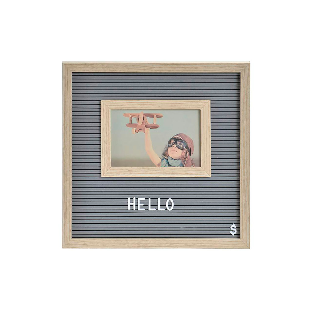 img-Cadre photo mdf pp 30,5x2x30,5 note gris