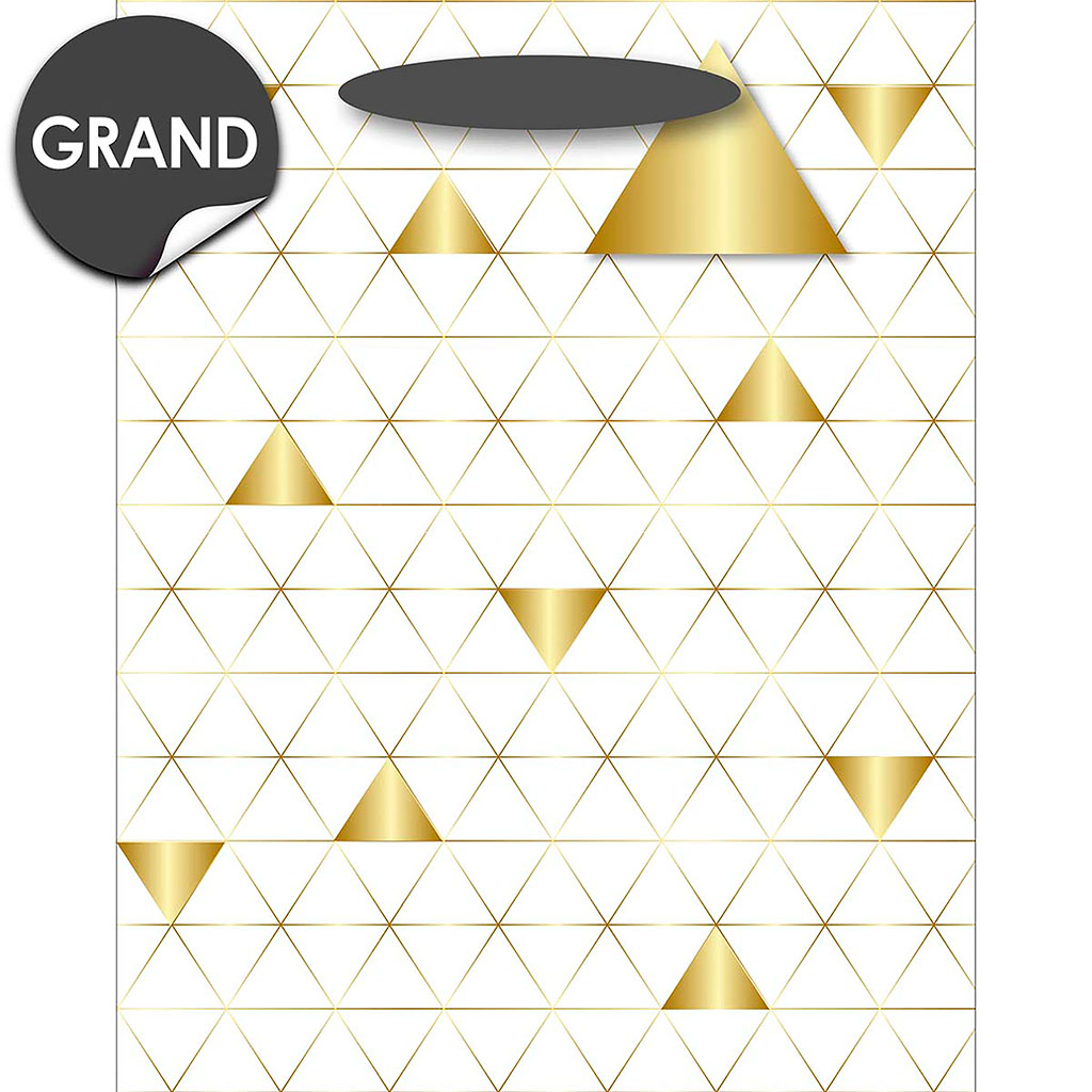 img-Sac cadeau gm blanc triangle or