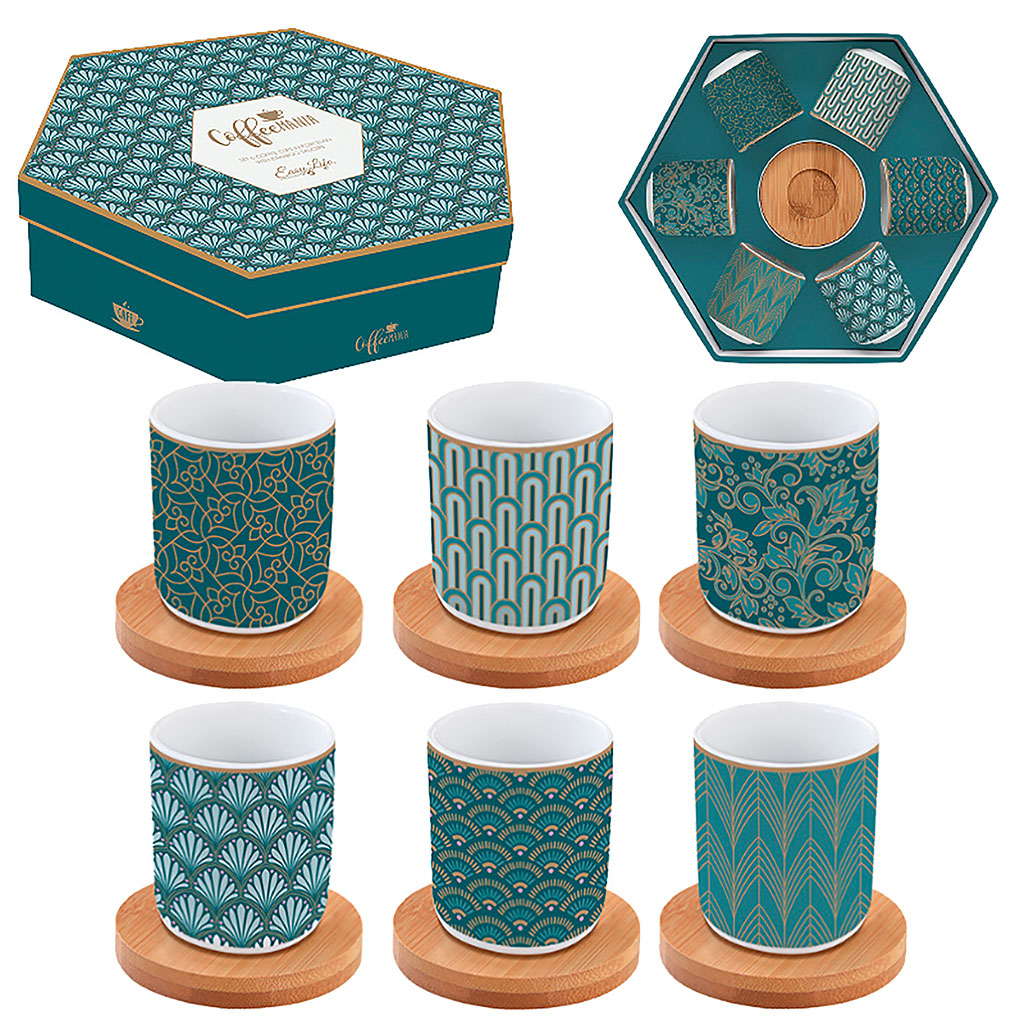 img-Coffret 6 tasses a cafe 11cl en porcelaine