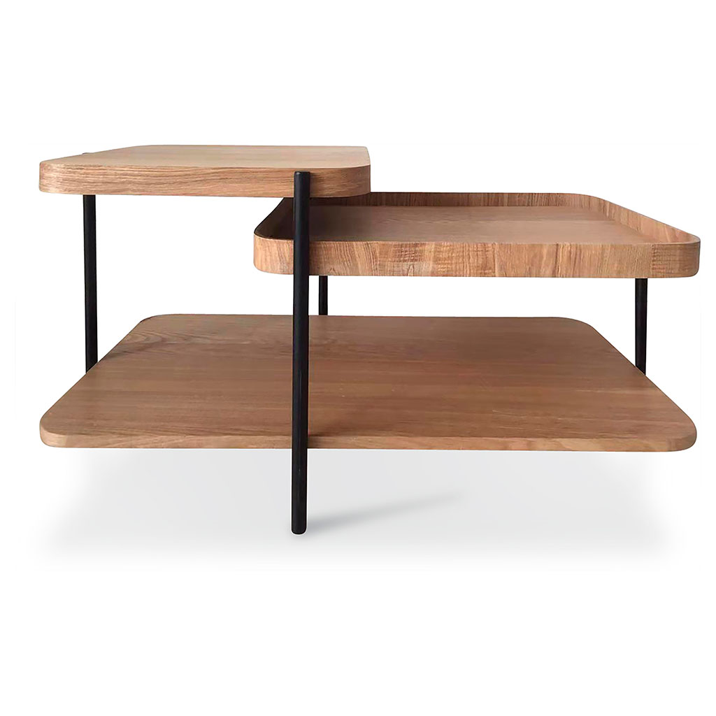 img-Table basse multi plateaux james 90x46x50cm