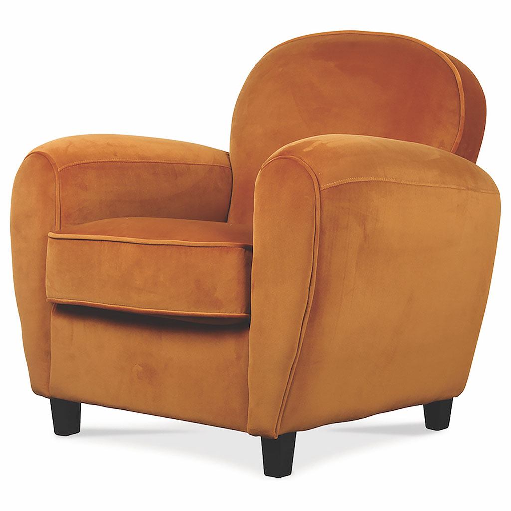 img-Fauteuil club velours indie 83x77xh81cm