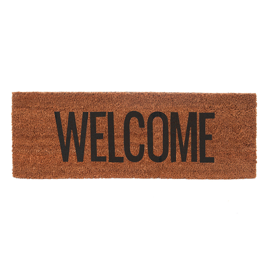 img-Paillasson welcome noir 75 x 26cm box32 design