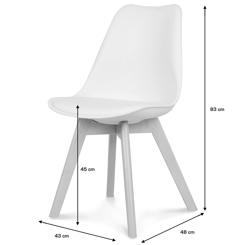 Chaise Chaise Blanche Blanche Opjet Chaise Scandinave Scandinave Blanche Opjet Opjet Scandinave Opjet XnwO8Pk0