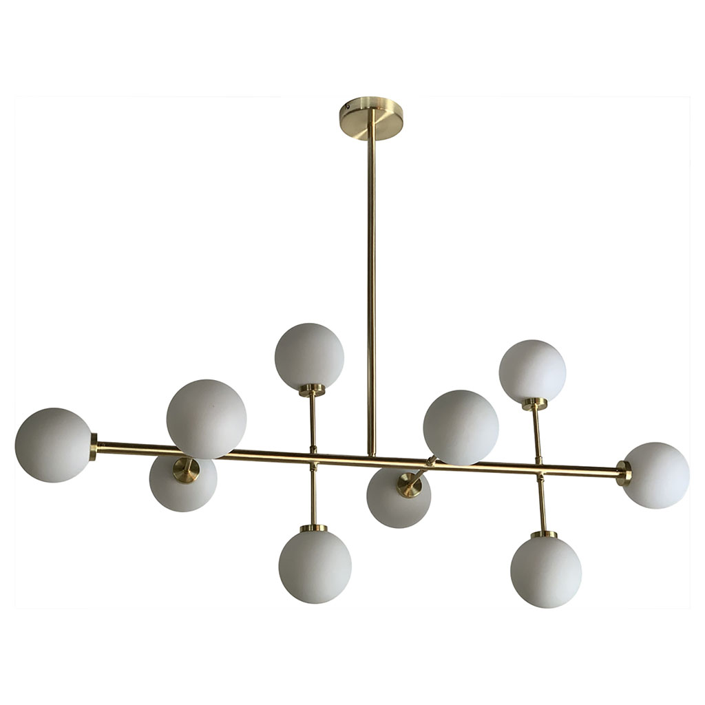 img-Suspension edmond horizontale 10 globes l89cm