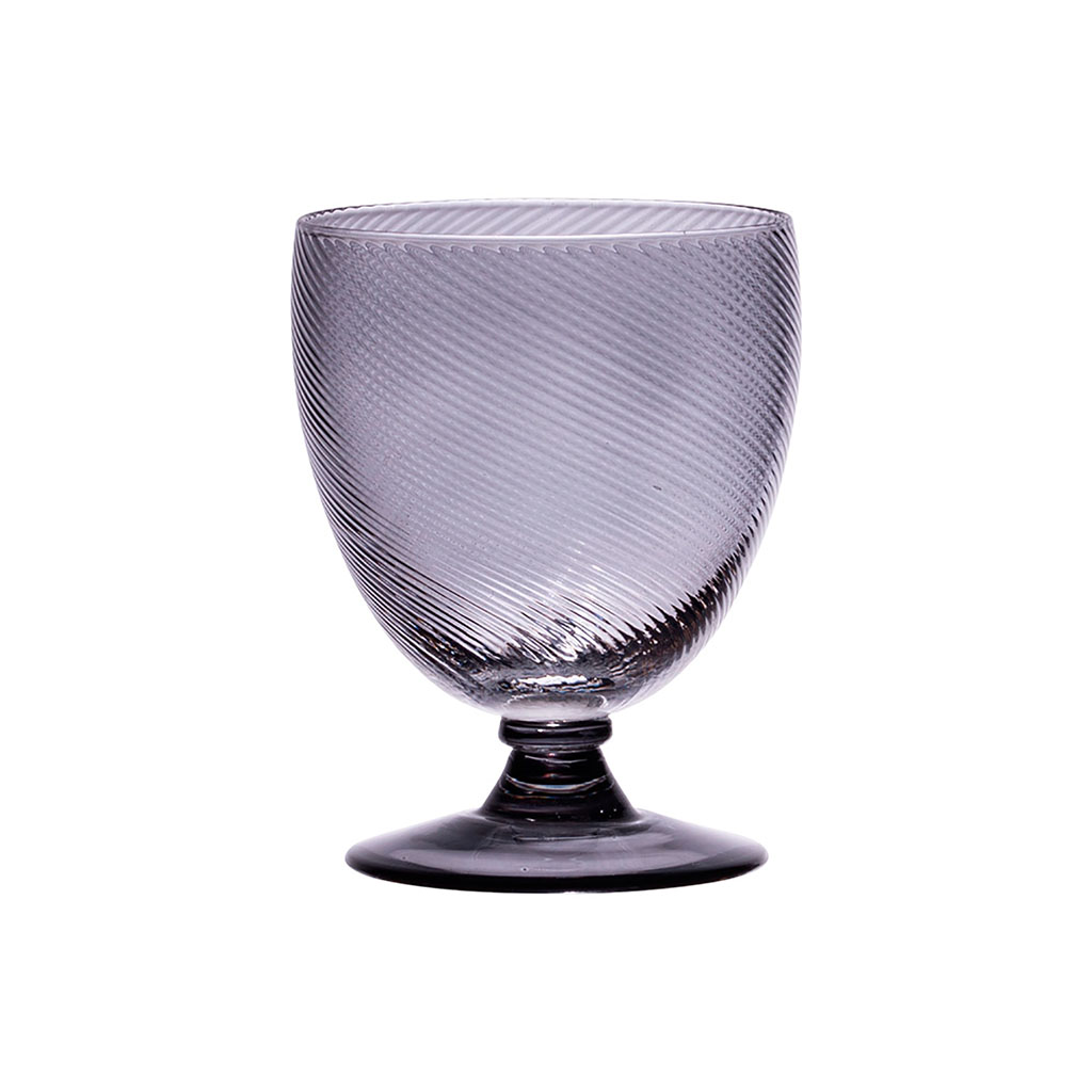 img-Verre a pied luberon 28.5cl gris