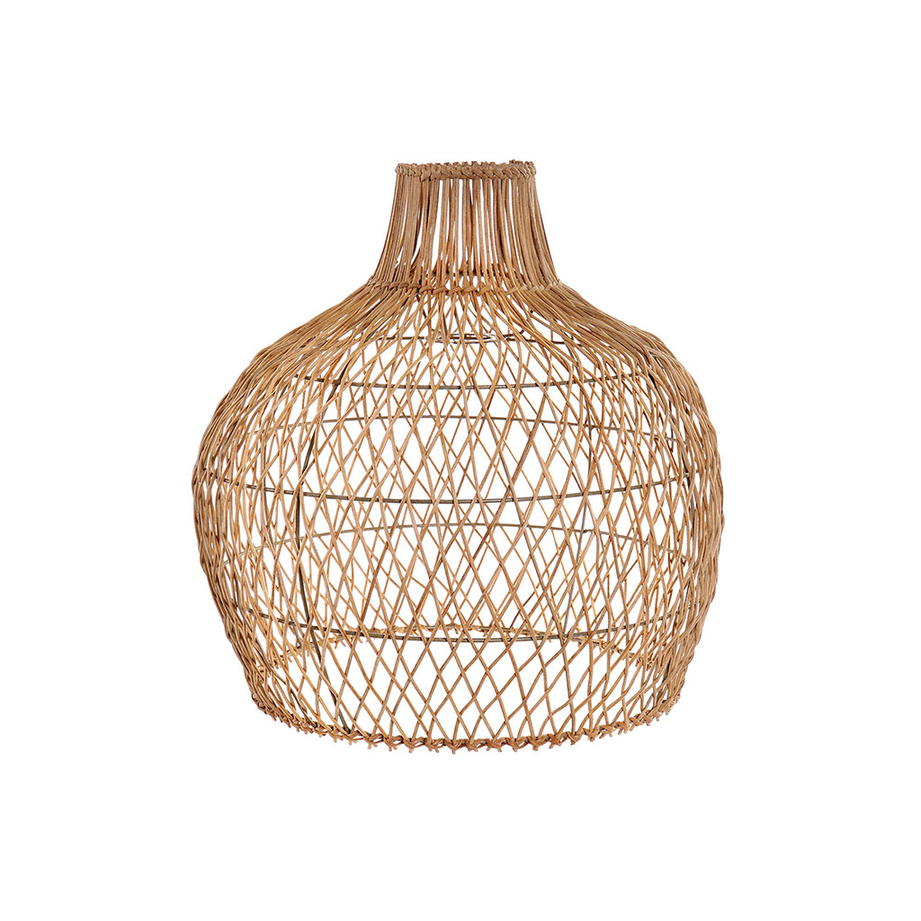 img-Suspension rotin+metal 42x42x43cm naturel
