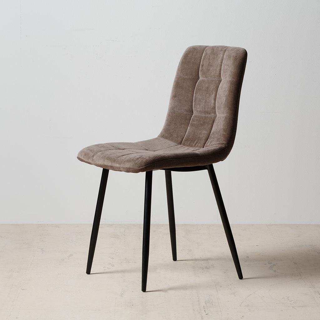 Magasin De Tissus Salon De Provence ixia - chaise verte tissu-metal salon 43x56xh87.5cm