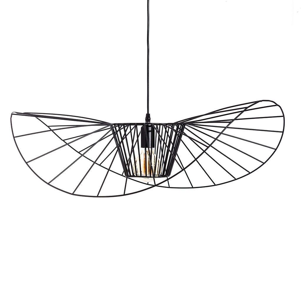 img-Suspension noir metal d120cm