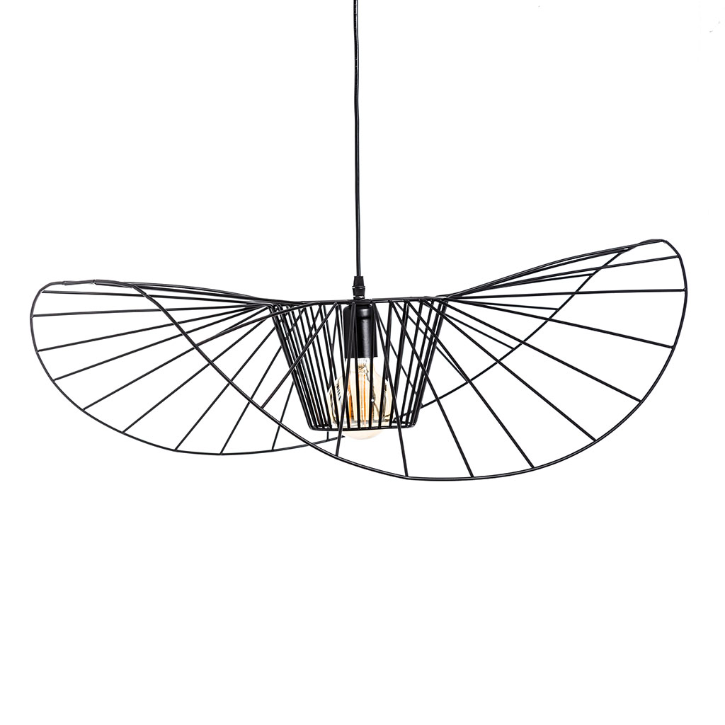 img-Suspension noir metal d72cm
