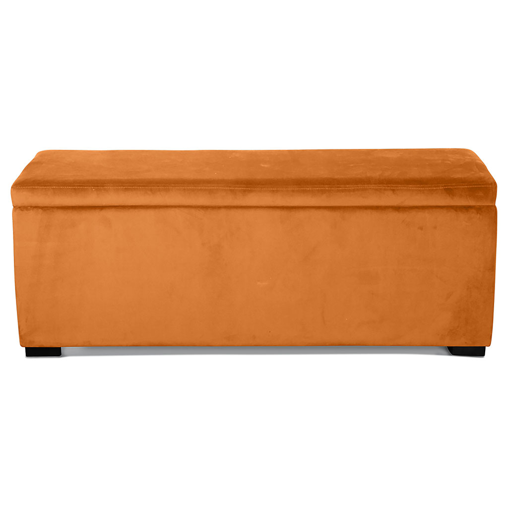 img-Banquette coffre velours indi 120x40xh45cm
