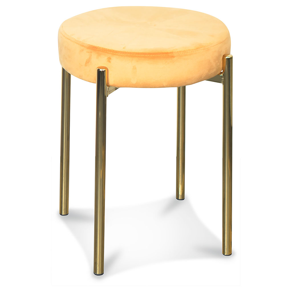 img-Tabouret jack pied dore indi d35xh48cm