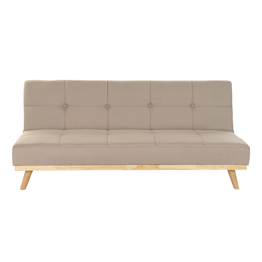 img-Canape convertible polyester bois 180x80x81cm beige