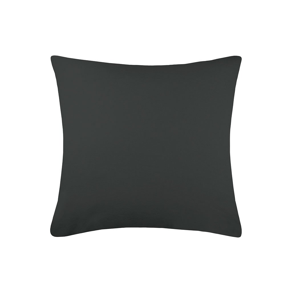 img-Taie cottage 65x65cm sac anthracite 100% coton