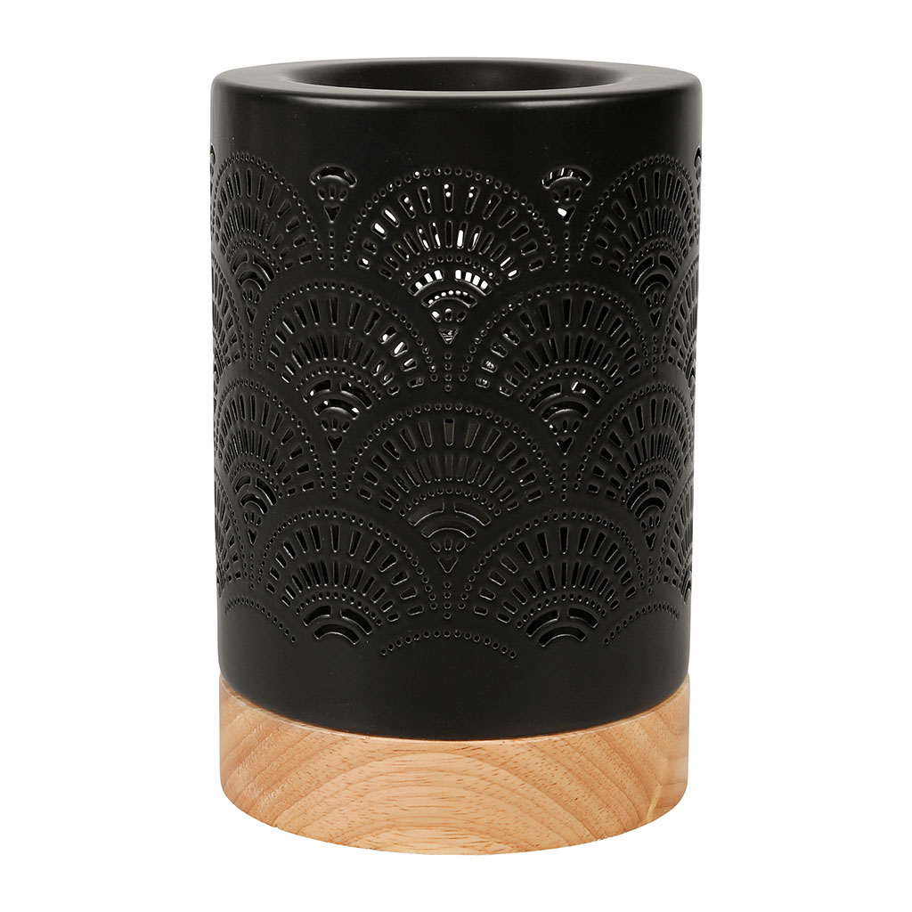 img-Lampe aromatique  japan Noir en Porcelaine