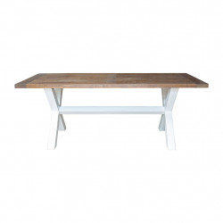 img-Table andine naturel et blanc