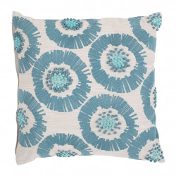 img-Coussin brode shweli turquoise