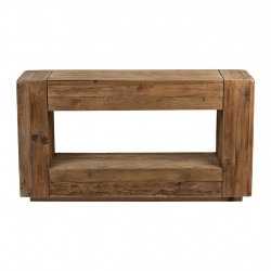 img-Console klasel naturel 140x40xh76cm pin recycle