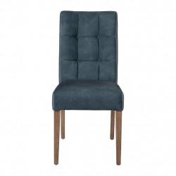 img-Chaise elsy bleu mineral 45x64xh94-assise h50cm frene,velours polyester-mousse