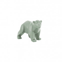 img-Statue origami ours small mat vert