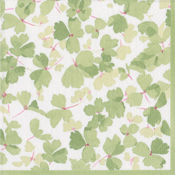 img-Serviettes en papier x20 spring winds green