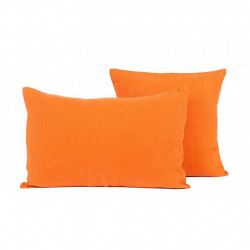 img-Coussin Propriano Paprika 45X45Cm 100% lin lavé