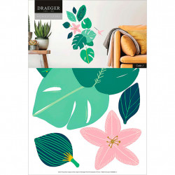 img-Stickers mur esprit jungle 24x36