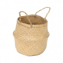 img-Panier piable belley naturel l d45xh36cm jonc de mer