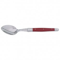 img-Cuillere de table laguiole irise rouge acier inox/abs
