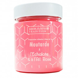img-Moutarde saveur échalote et ail rose