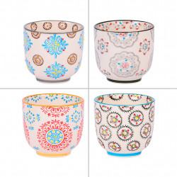 img-Coffret 4 tasses 15cl boheme multicolore