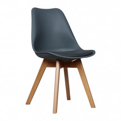 img-Chaise scandinave anthracite 48x43xh83cm