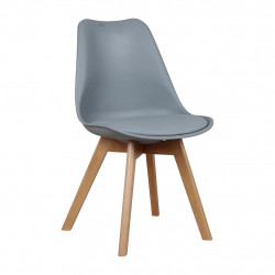 img-Chaise scandinave grise 48x43 h83cm