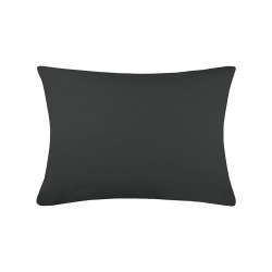 img-Taie cottage 50x70cm sac anthracite 100% coton