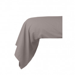 img-Traversin cottage 45x185cm taupe 100% coton