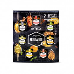img-Coffret degustation moutardes 7x35g